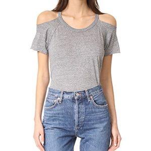 Chaser Cold Shoulder Raglan T Shirt XS EUC